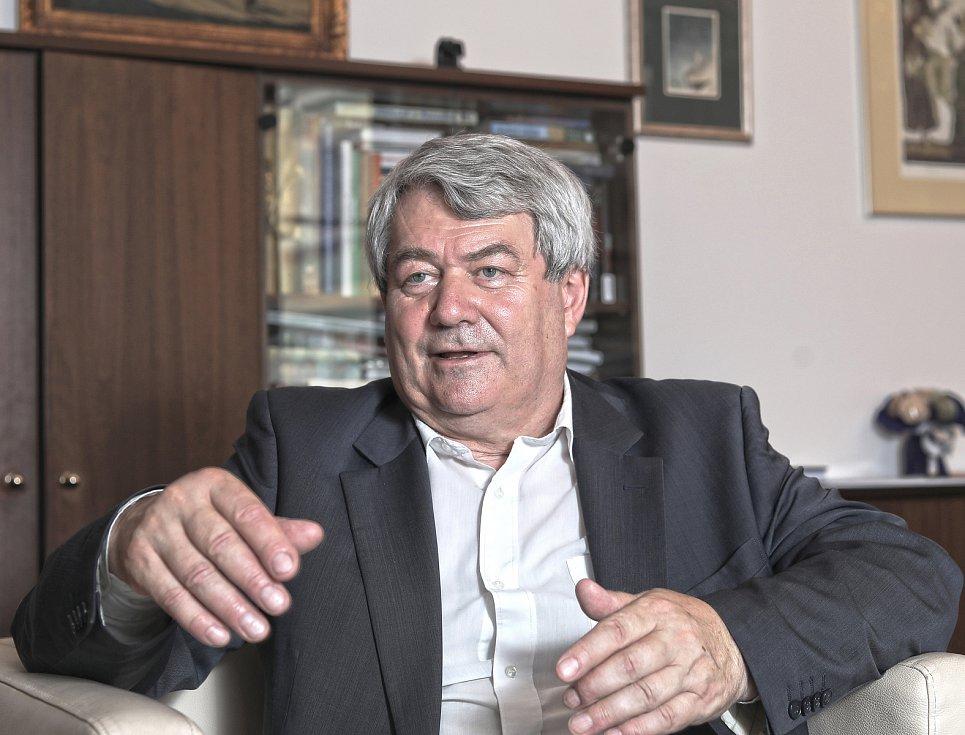 Předseda Komunistické strany Čech a Moravy Vojtěch Filip.