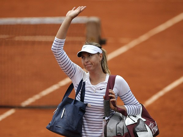 Maria Šarapovová se rychle vytratila