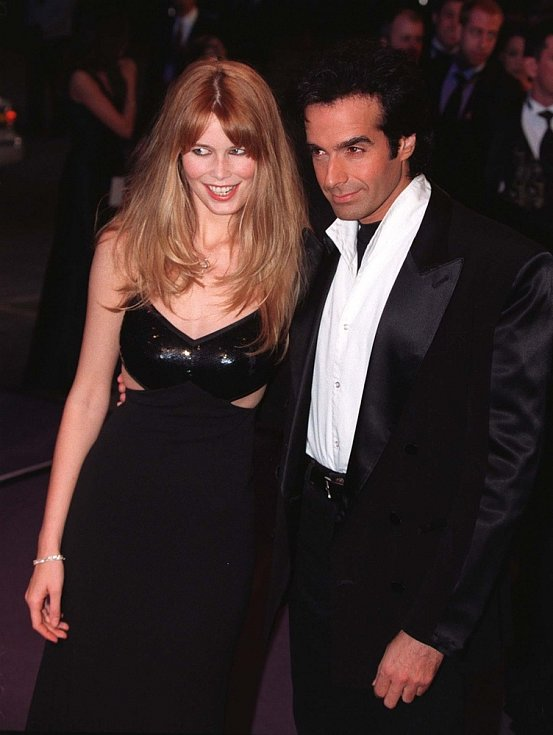 David Copperfield kdysi tvořil pár se supermodelkou Claudií Schifferovou.