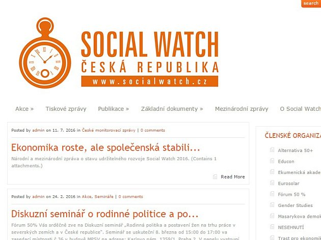 Social Watch ČR