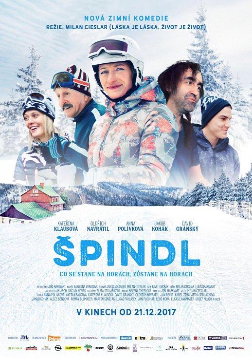 plakát k filmu Špindl