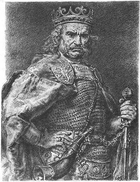 Polský vládce Vladislav Lokýtek, jenž se řadí mezi potenciální Václavovy vrahy