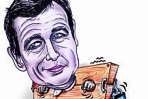 David Rath - karikatura
