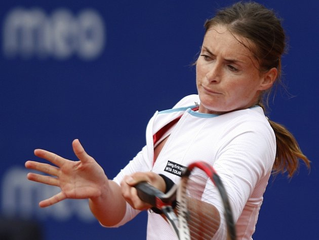 Iveta Benešová v semifinále turnaje v portugalském Estorilu.
