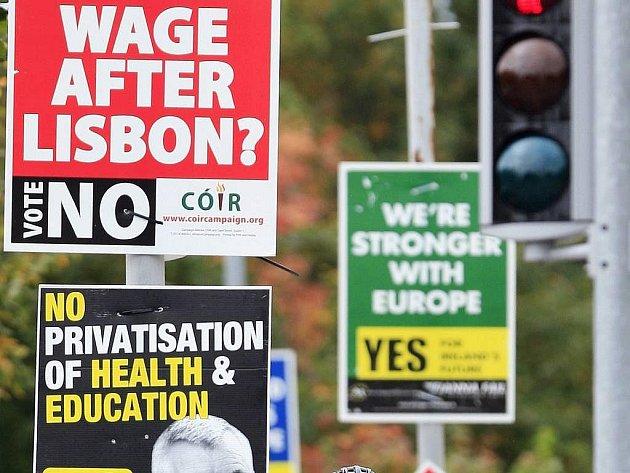 """V Irsku vrcholí referendum o """"Lisabonu"""""""