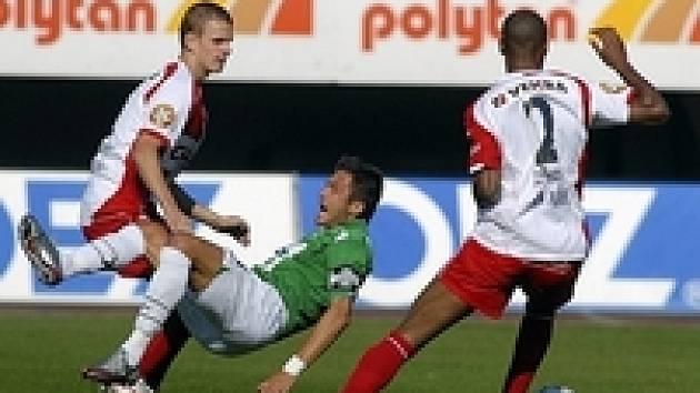 Jablonec - Slavia: Baranek, Janda a Tavares