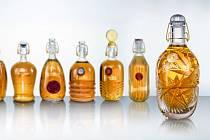 Umělecké pivní lahve Pilsner Urquell