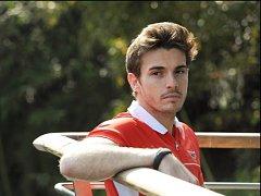 Jules Bianchi na archivním snímku