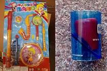 ČOI varuje před nebezpečnou plastovou flétnou pro děti.