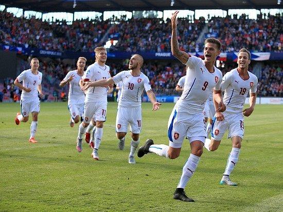 """Česko """"21"""" vs. Srbsko """"21"""": Jan Kliment a jeho radost z gólu"""