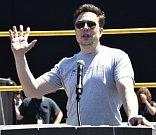 Americký miliardář Elon Musk