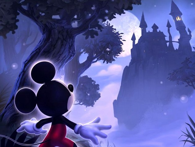 Počítačová hra Castle of Illusion HD.