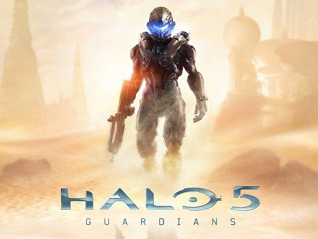 Konzolová hra Halo 5: Guardians.