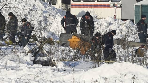 Havárie letadla u vesnice Štěpanovskoje