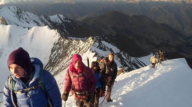 Horská expedice - Ilustrační foto