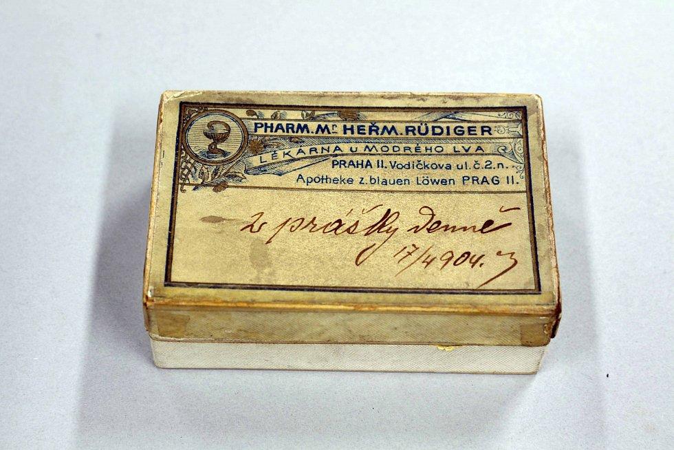 Originální krabička s léky
