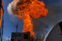 Výbuch lihovaru v Mexico City