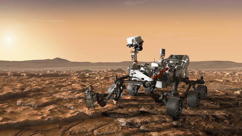 Rover Mars 2020.