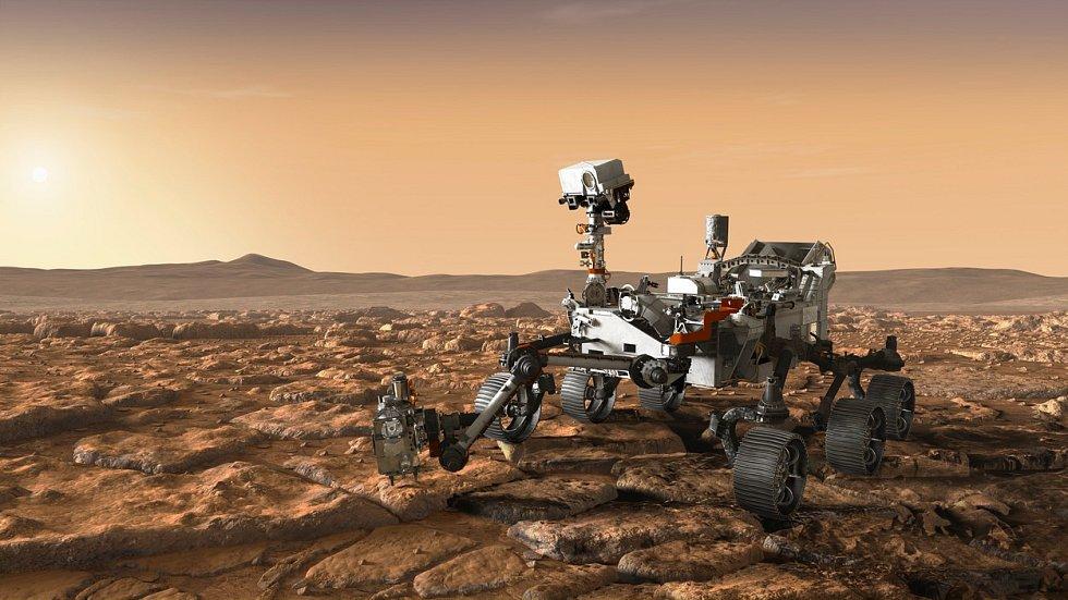 Rover Mars 2020. Ilustrační snímek