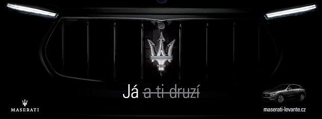 Nová reklamní kampaň Maserati.