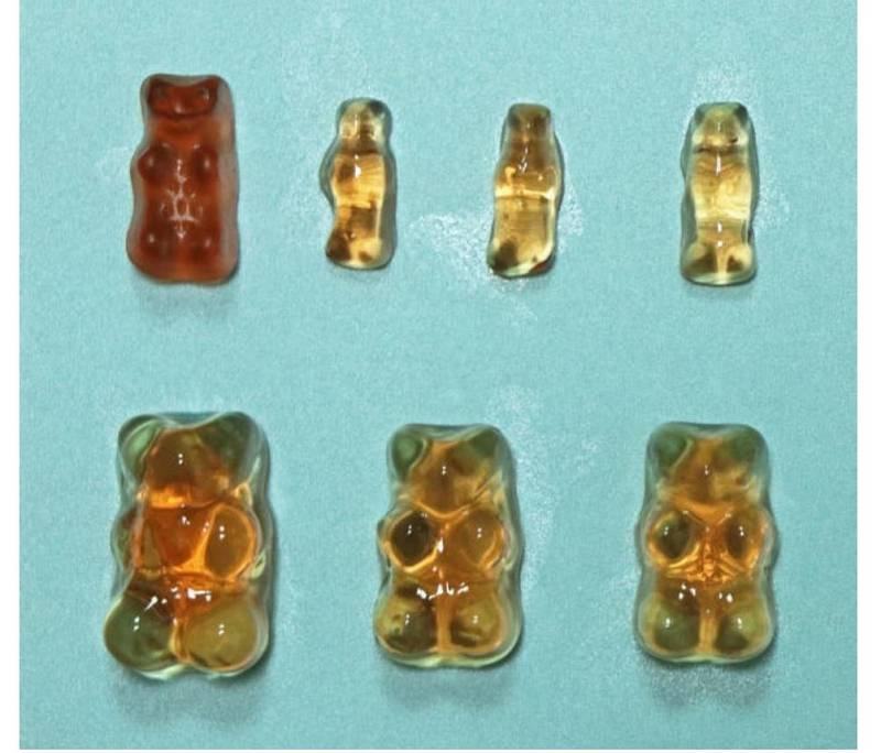 Pokus s medvídky