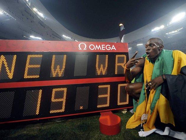 Usain Bolt znovu měnil historické tabulky. Tentokrát na dvoustovce.