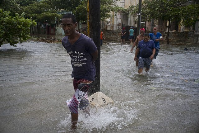 Zpustošená Kuba