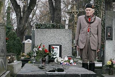 Pietní vzpomínka u hrobu Jana Palacha