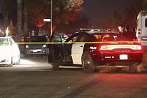 Policie na místě střelby. Ilustrační foto.