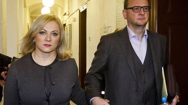 Jana Nečasová (Nagyová) s manželem Petrem Nečasem