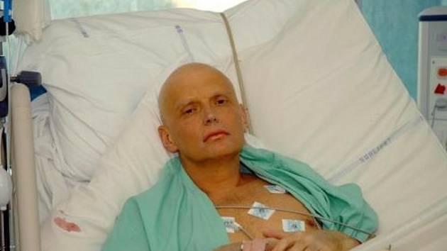 Bývalý ruský agent Alexander Litviněnko.