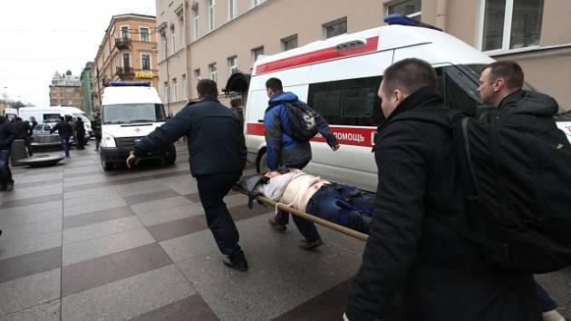 Výbuch v petrohradském metru