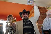 Waldemar Matuška na křtu svého DVD Slavíci z Madridu.