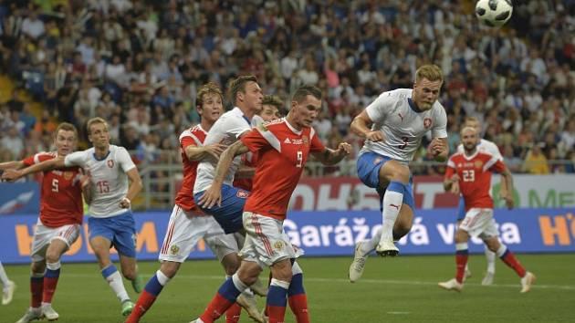 Češi podlehli Rusům jasně 1:5.