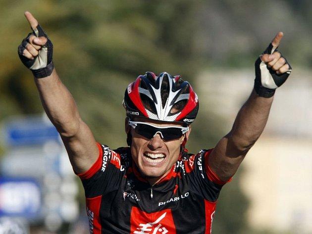 Poslední etapu cyklistického závodu Paříž - Nice vyhrál Španěl Sánchez.