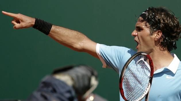 Roger Federer se probojoval na turnaji série Masters v Monte Carlu už do semifinále.