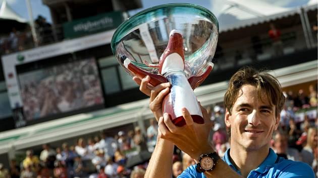 Španěl Tommy Roberedo porazil ve finále v Bastadu Tomáše Berdycha.