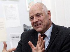 Rektor VŠCHT V Praze Karel Melzoch.
