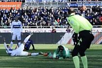 Snímek ze zápasu Bergamo - Inter Milán (1:1)