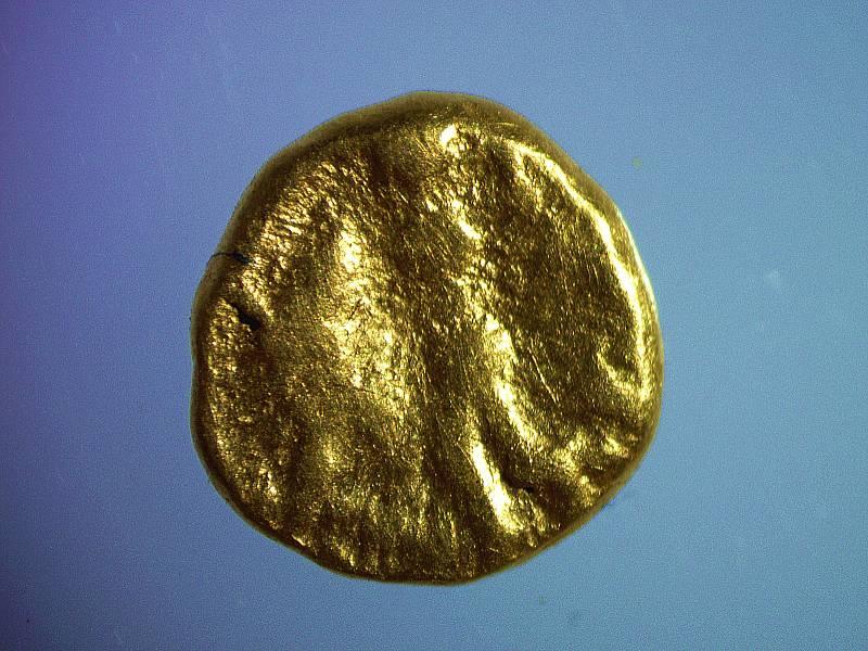 Nález 1/24 statéru (typ Athena Alkidemos) z ml. d. laténské (2 st. př. n .l.)