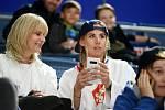 Ester Ledecká. Dvojnásobná olympijská vítězka si mistrovství světa na Slovensku nenechala ujít.