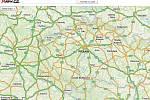 Screenshot z portálu mapy.cz