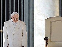 Bývalý papež Benedikt XVI.