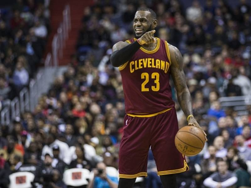 LeBron James z Clevelandu.