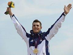 Biker Jaroslav Kulhavý vybojoval olympijské zlato.