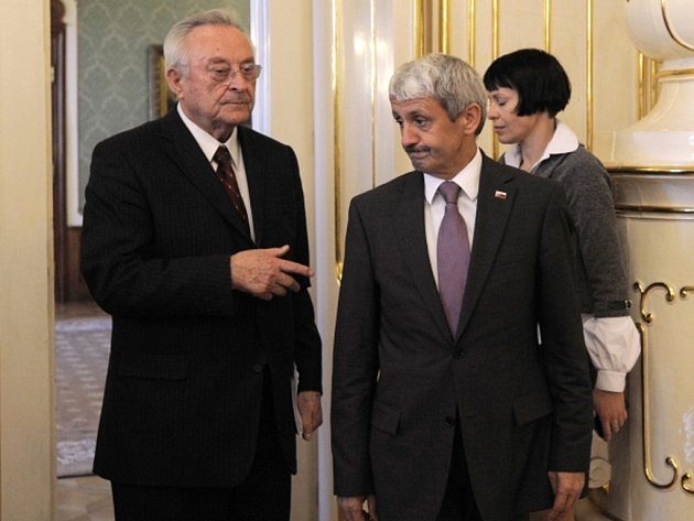 Mikuláš Dzurinda (vpravo) a Milan Čič.