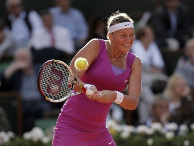 Petra Kvitová v semifinále Roland Garros.
