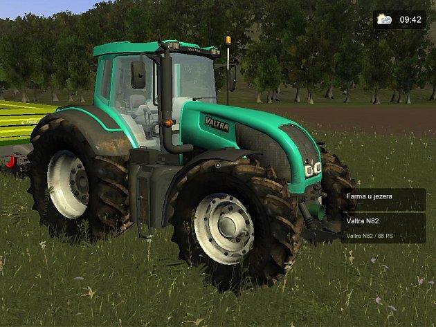 Počítačová hra Traktor Simulator 3.