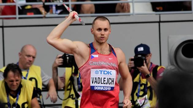 Oštěpař Jakub Vadlejch hodil druhým pokusem 84,31 metru a překonal tak limit pro postup do finále MS