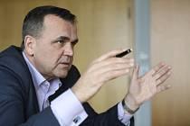 Generální ředitel Řízení letového provozu Jan Klas.